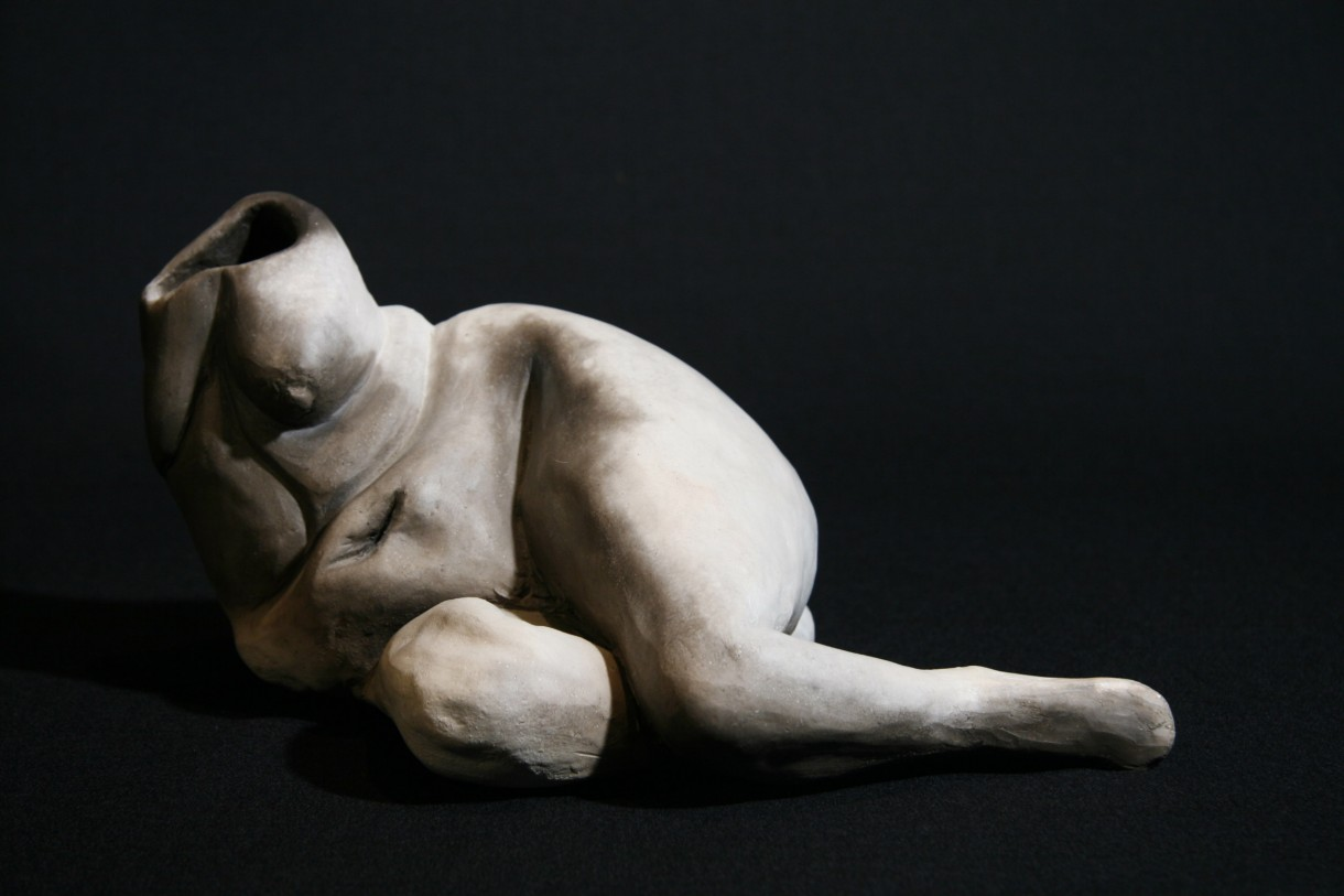 Photograph of a sculpture
