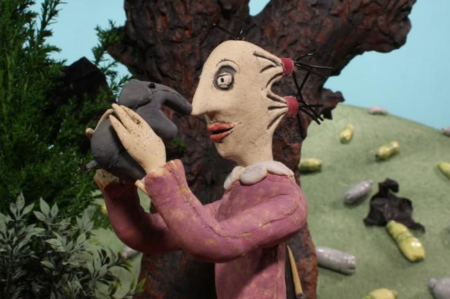 Still image from the film Hinterland
